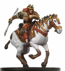 D&D Miniatures - Click to view the stats for Valenar Nomad Charger Miniature