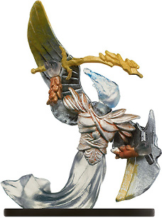 D&D Miniatures - Click to view the stats for Angel of Vengeance Miniature