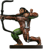 D&D Miniatures - Click to view the stats for Cliffwalk Archer Miniature