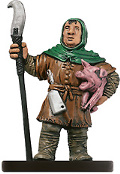 D&D Miniatures - Click to view the stats for Farmer Miniature