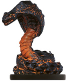 D&D Miniatures - Click to view the stats for Flame Snake Miniature