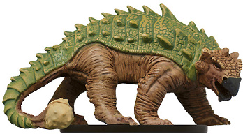 D&D Miniatures - Click to view the stats for Macetail Behemoth Miniature
