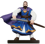 D&D Miniatures - Click to view the stats for Mercenary General Miniature