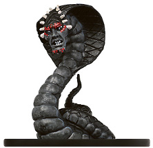 D&D Miniatures - Click to view the stats for Naga Miniature