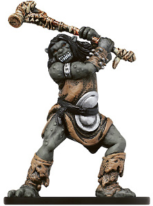 D&D Miniatures - Click to view the stats for Ogre Brute Miniature