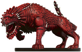D&D Miniatures - Click to view the stats for Rage Drake Miniature