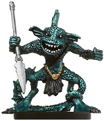 D&D Miniatures - Click to view the stats for Sahuagin Miniature
