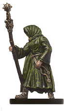 D&D Miniatures - Click to view the stats for Snaketongue Cultist Miniature