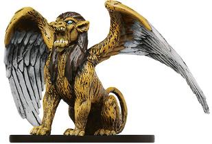 D&D Miniatures - Click to view the stats for Sphinx Miniature