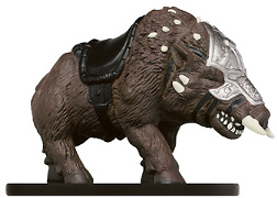 D&D Miniatures - Click to view the stats for Thundertusk Boar Miniature