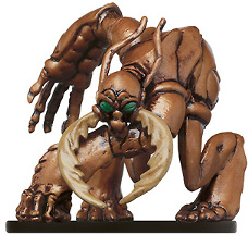 D&D Miniatures - Click to view the stats for Umber Hulk Delver Miniature