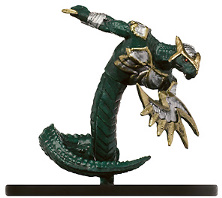 D&D Miniatures - Click to view the stats for Yuan-Ti Champion of Zehir Miniature