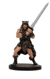 D&D Miniatures - Click to view the stats for Barbarian Mercenary Miniature