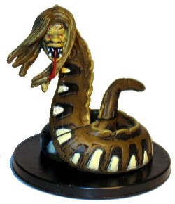D&D Miniatures - Click to view the stats for Bright Naga Miniature