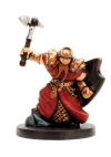 D&D Miniatures - Click to view the stats for Cleric of Moradin Miniature