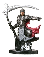 D&D Miniatures - Click to view the stats for Cleric of Nerull Miniature