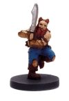 D&D Miniatures - Click to view the stats for Dwarf Barbarian Miniature