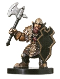 D&D Miniatures - Click to view the stats for Dwarven Defender Miniature