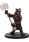 D&D Miniatures - Click to view the stats for Dwarven Werebear Miniature