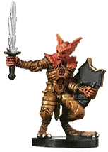 D&D Miniatures - Click to view the stats for Gold Champion Miniature