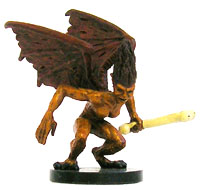 D&D Miniatures - Click to view the stats for Harpy Miniature