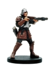 D&D Miniatures - Click to view the stats for Human Crossbowman Miniature