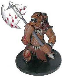D&D Miniatures - Click to view the stats for Ogre Ravager Miniature