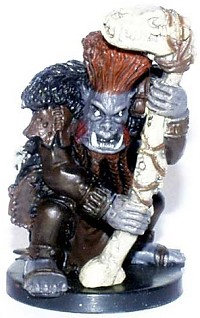 D&D Miniatures - Click to view the stats for Orc Druid Miniature