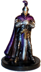 D&D Miniatures - Click to view the stats for Purple Dragon Knight Miniature