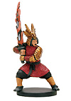 D&D Miniatures - Click to view the stats for Red Samurai Miniature