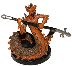 D&D Miniatures - Click to view the stats for Salamander Miniature
