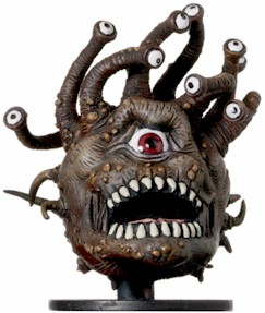 D&D Miniatures - Click to view the stats for Beholder Miniature