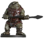 D&D Miniatures - Click to view the stats for Bullywug Thug Miniature