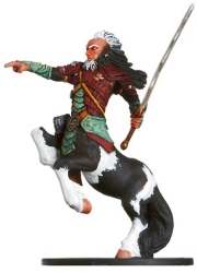 D&D Miniatures - Click to view the stats for Centaur Hero Miniature