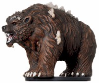 D&D Miniatures - Click to view the stats for Dire Bear Miniature