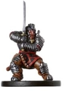 D&D Miniatures - Click to view the stats for Dwarf Samurai Miniature