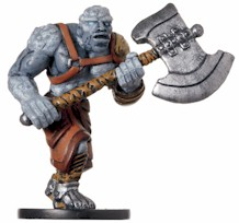 D&D Miniatures - Click to view the stats for Goliath Barbarian Miniature