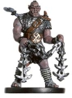 D&D Miniatures - Click to view the stats for Rask, Half-Orc Chainfighter Miniature