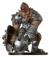 D&D Miniatures - Click to view the stats for Skullcrusher Ogre Miniature