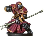 D&D Miniatures - Click to view the stats for Warforged Wizard Miniature