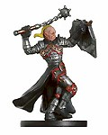 D&D Miniatures - Click to view the stats for Warpriest of Hextor Miniature