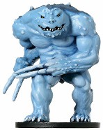 D&D Miniatures - Click to view the stats for Blue Slaad Miniature