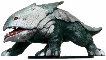 D&D Miniatures - Click to view the stats for Bulette Miniature