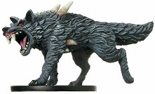 D&D Miniatures - Click to view the stats for Dire Wolf Miniature