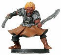 D&D Miniatures - Click to view the stats for Fire Genasi Dervish Miniature