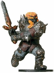 D&D Miniatures - Click to view the stats for Fire Giant Miniature