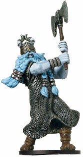 D&D Miniatures - Click to view the stats for Frost Giant Miniature