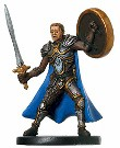 D&D Miniatures - Click to view the stats for Inspiring Marshal Miniature