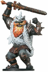 D&D Miniatures - Click to view the stats for King Snurre Miniature