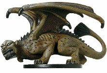 D&D Miniatures - Click to view the stats for Manticore Miniature